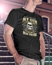 MY GUN-DEAD FINGERS Premium Fit Mens Tee lifestyle-mens-crewneck-front-5