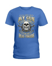 MY GUN-DEAD FINGERS Ladies T-Shirt thumbnail