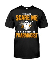 Hospital Pharmacist Halloween  Classic T-Shirt front