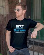 BEST DAD EVER Classic T-Shirt lifestyle-mens-crewneck-front-2