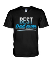 BEST DAD EVER V-Neck T-Shirt thumbnail