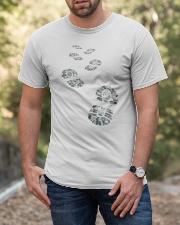 Hiker Bootprint Classic T-Shirt apparel-classic-tshirt-lifestyle-front-53