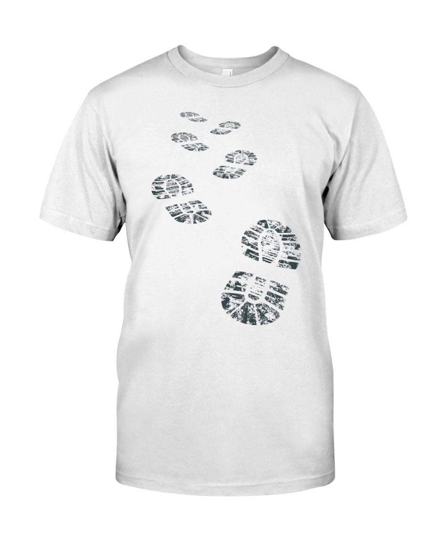Hiker Bootprint Classic T-Shirt