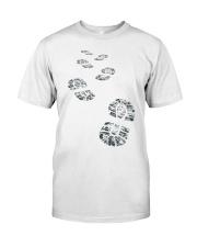 Hiker Bootprint Classic T-Shirt front