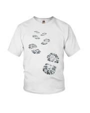 Hiker Bootprint Youth T-Shirt thumbnail
