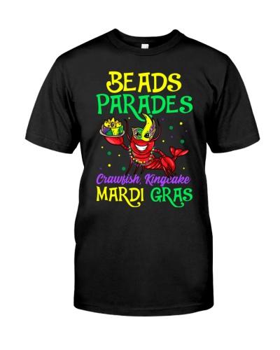 Mardi Gras Beads Parades Crawfish