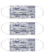 Ocean Animal  Cloth Face Mask - 3 Pack front