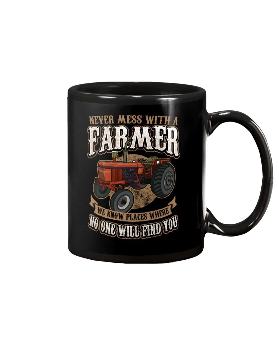 Never Mess With A Farmer Mug