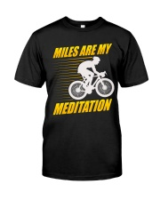 Miles are my Meditation Premium Fit Mens Tee tile