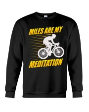 Miles are my Meditation Crewneck Sweatshirt thumbnail