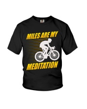 Miles are my Meditation Youth T-Shirt tile