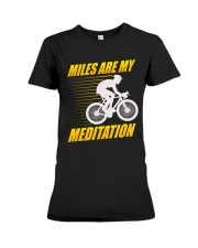 Miles are my Meditation Premium Fit Ladies Tee thumbnail