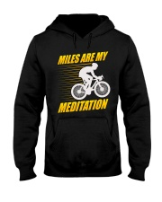 Miles are my Meditation Hooded Sweatshirt thumbnail