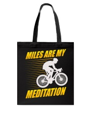 Miles are my Meditation Tote Bag tile