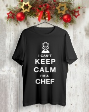 Keep Calm CHEF Classic T-Shirt lifestyle-holiday-crewneck-front-2