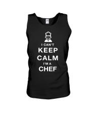 Keep Calm CHEF Unisex Tank thumbnail