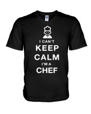 Keep Calm CHEF V-Neck T-Shirt thumbnail