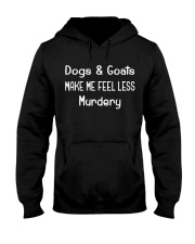 DOGS AND GOATS Hooded Sweatshirt thumbnail