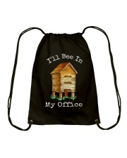 Beekeeper Office Drawstring Bag thumbnail