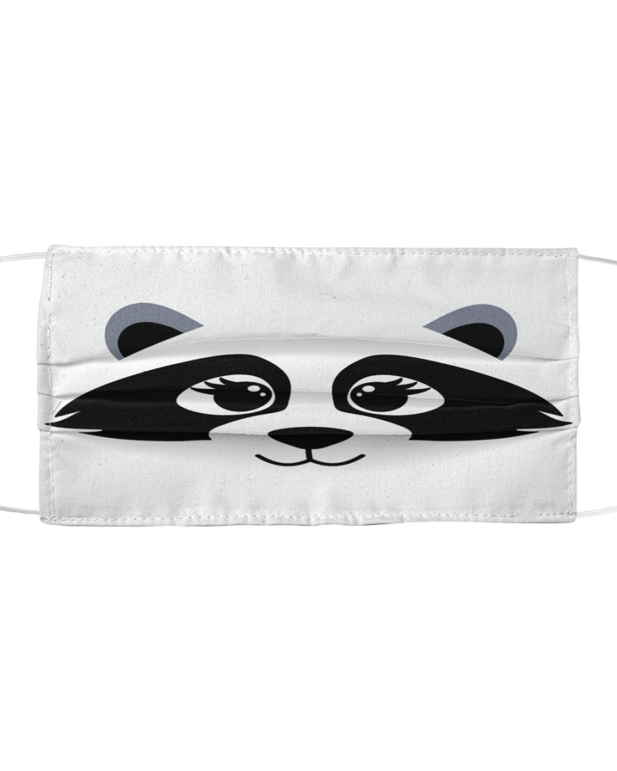 Racoon  Cloth face mask