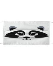 Racoon  Cloth face mask front