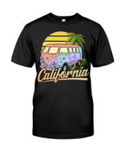 California Hippie Classic T-Shirt front
