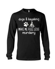 DOGS AND KAYAKING Long Sleeve Tee thumbnail