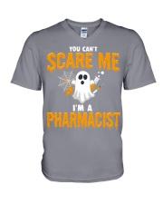 Pharmacist Halloween  V-Neck T-Shirt thumbnail