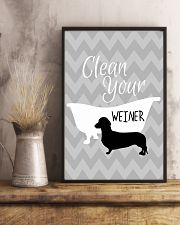 Clean your winer 11x17 Poster lifestyle-poster-3