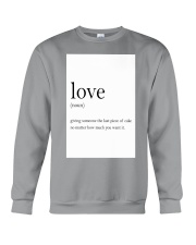 Family Quote Crewneck Sweatshirt thumbnail