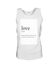 Family Quote Unisex Tank thumbnail