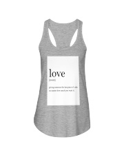 Family Quote Ladies Flowy Tank thumbnail