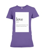 Family Quote Premium Fit Ladies Tee thumbnail