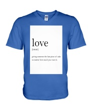 Family Quote V-Neck T-Shirt thumbnail