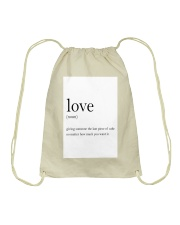 Family Quote Drawstring Bag thumbnail