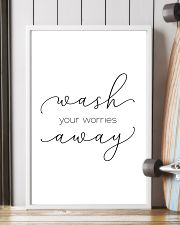 wash you worries away 11x17 Poster lifestyle-poster-4