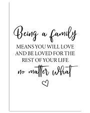 Family Decor 11x17 Poster front