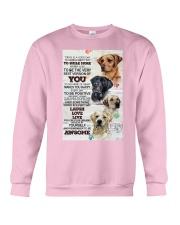 Dog Today is a good days Crewneck Sweatshirt thumbnail