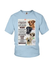 Dog Today is a good days Youth T-Shirt thumbnail