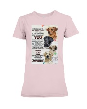 Dog Today is a good days Premium Fit Ladies Tee thumbnail