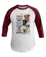 Dog Today is a good days Baseball Tee thumbnail