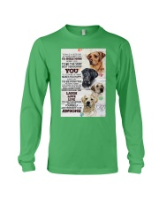 Dog Today is a good days Long Sleeve Tee thumbnail