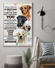 Dog Today is a good days 11x17 Poster lifestyle-poster-1