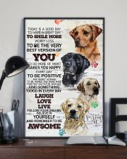 Dog Today is a good days 11x17 Poster lifestyle-poster-2