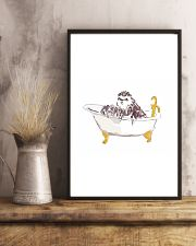 Sloth Bath Time 11x17 Poster lifestyle-poster-3