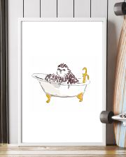 Sloth Bath Time 11x17 Poster lifestyle-poster-4