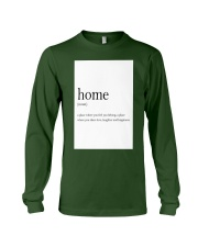 Family Quote Long Sleeve Tee thumbnail