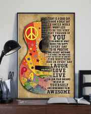 Guitar Today is a good day 11x17 Poster lifestyle-poster-2