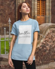 Family Quote Classic T-Shirt apparel-classic-tshirt-lifestyle-06