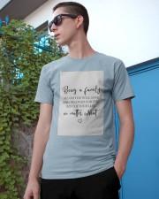 Family Decor  Classic T-Shirt apparel-classic-tshirt-lifestyle-17
